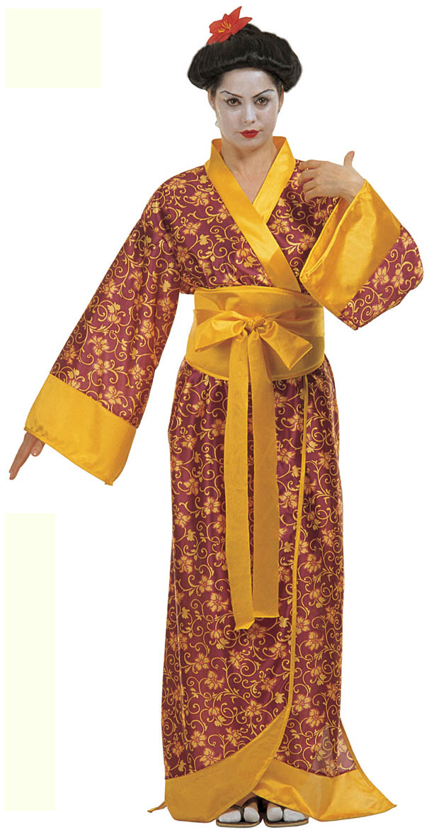 Kimono Dress, traditional Japanese clothing, available here at www