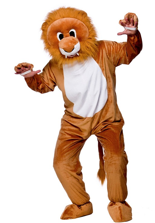 Mini Lion Mascot Costume Ma8548 Budget Mascots Cheap