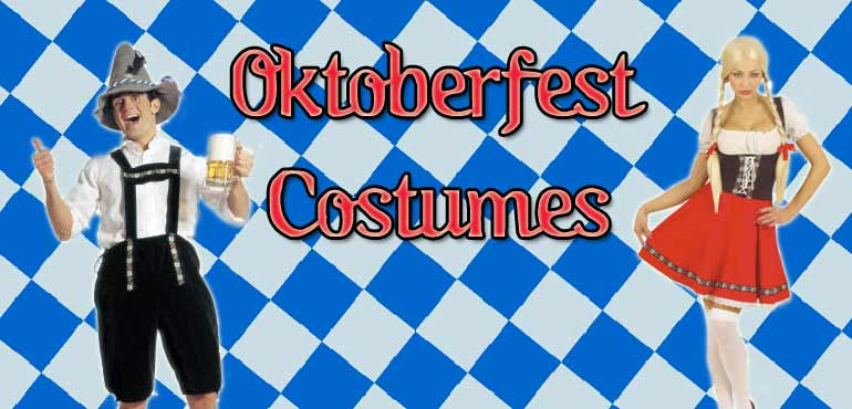 Men's Oktoberfest Bavarian costumes