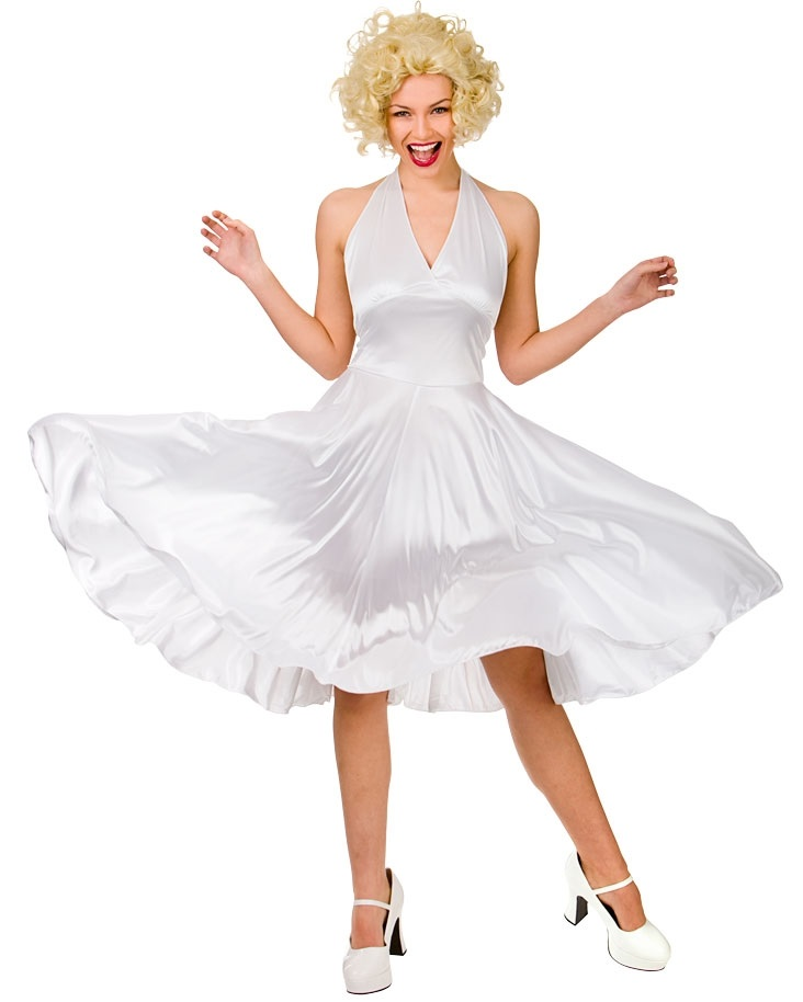 50\'s Hollywood Starlet Costume Marilyn Monroe| Plus size Marilyn ...