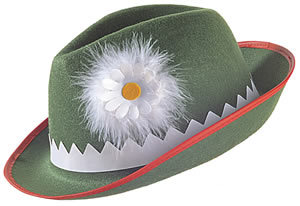 Bavarian Hat with Daisy