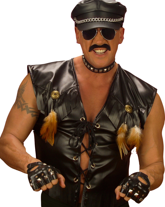 Biker Fancy Dress Costume Xlvillage People Biker Costume