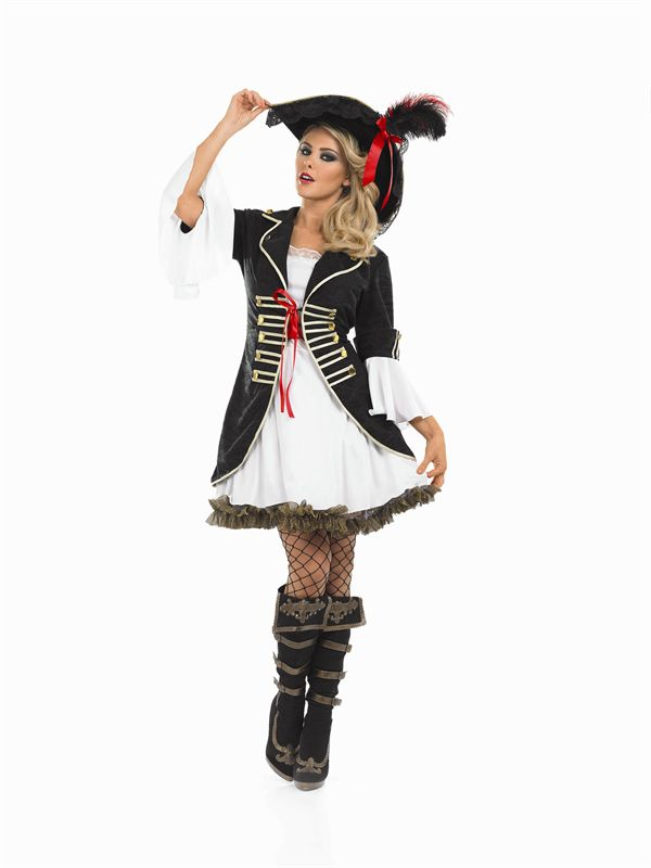 Buccaneer Pirate Costume 3344 Ladies Pirate Fancy Dress Costume