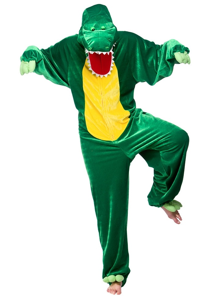 Adult Crocodile Costume 8913 Monkey Fancy Dress Costume