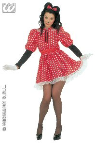 Sexy Mini Mouse Costume XL