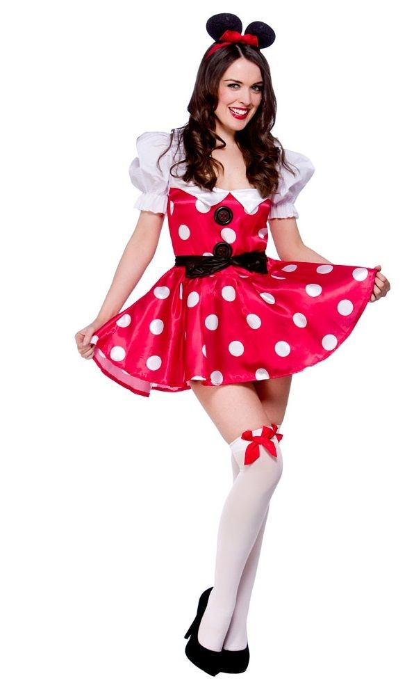 Sexy Minnie Mouse Costume Ladies Minnie Mouse Costume