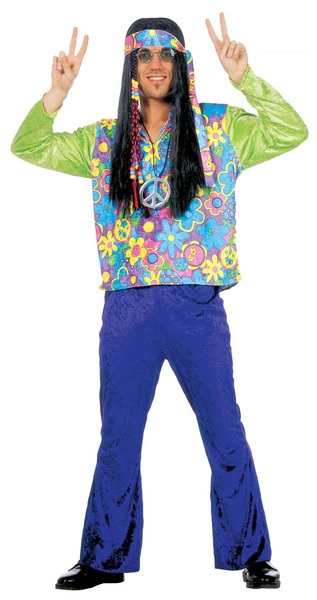 Velvet Hippy Hippie Man Costume (3541)Hippy costume - menu0027s 70u0027s hippie fancy dress costume - 60u0027s hippie costume for men  sc 1 st  Flagship Fancy Dress & Velvet Hippy Hippie Man Costume (3541)Hippy costume - menu0027s 70u0027s ...