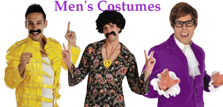 Men's fancy dress costsumes