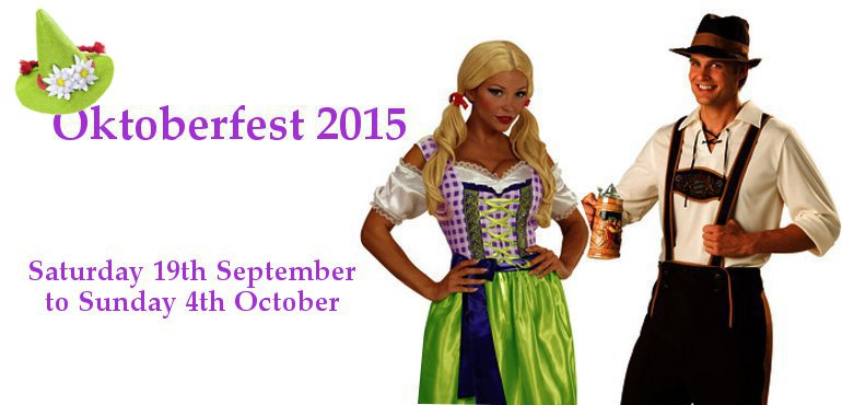 German Bavarian Oktoberfest costumes
